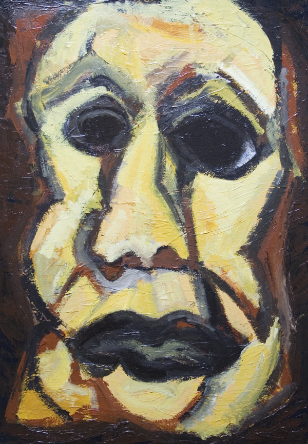 Quot Man Of Wisdowm Quot New Expressionism Distorted Man S