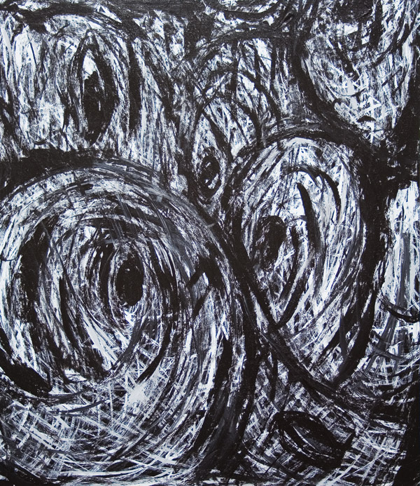 Quot Conspiracies Quot Abstract Abstract Expressionism Black